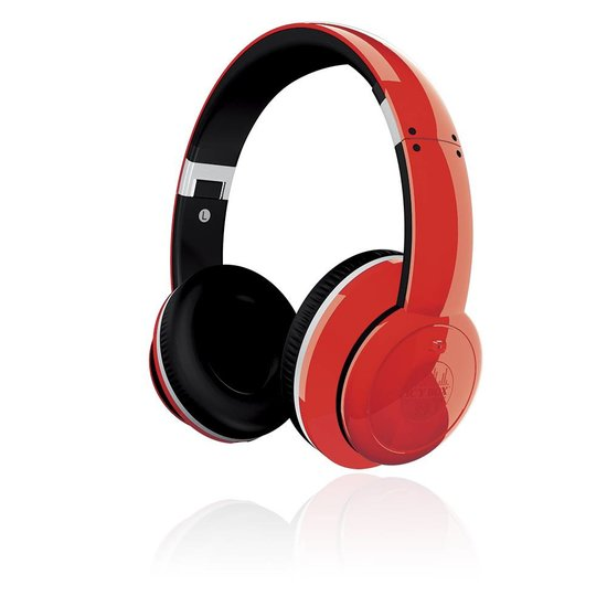 ICY BOX IB-HPh2-R - Stereo Headphones with active Noice Canceling Technology