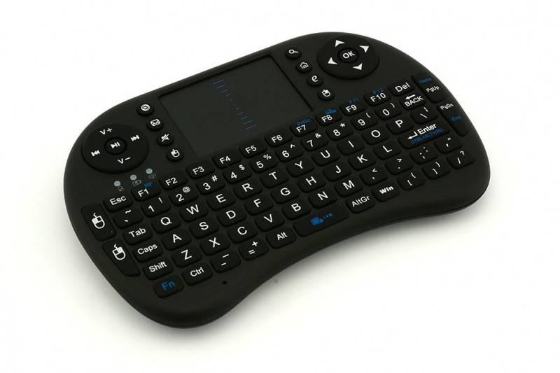 i8 Touchpad keyboard 2.4G wireless (black)