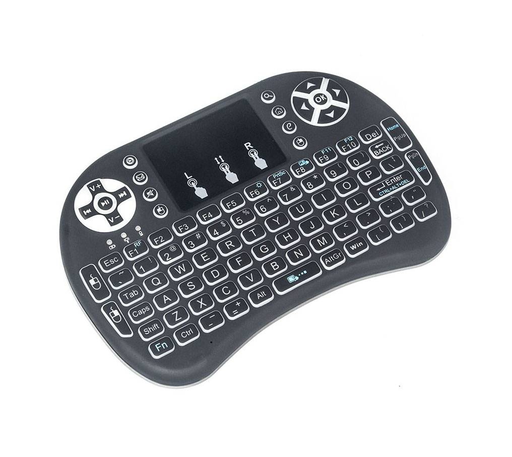 i8 Touchpad keyboard 2.4G met backlight