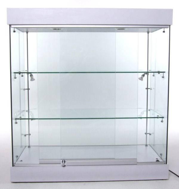 vitrine mit beleuchtung vu01w hersteller von hochwertigen glas alu vitrinen mit beleuchtung. Black Bedroom Furniture Sets. Home Design Ideas
