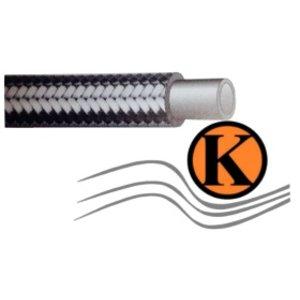 Flexibler Druckschlauch für Mitteldruckanwendungen in der Hydraulik sowie in der chemischen Industrie DN 19