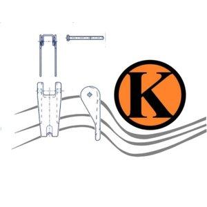 Ersatz Sicherheits-Schmiedefalle für Lasthaken GK 8