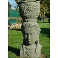 Produkten-products Kepala Pot - Garden statue