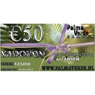 Produkten-products Gift voucher € 50