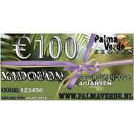 Produkten-products Gift voucher € 100