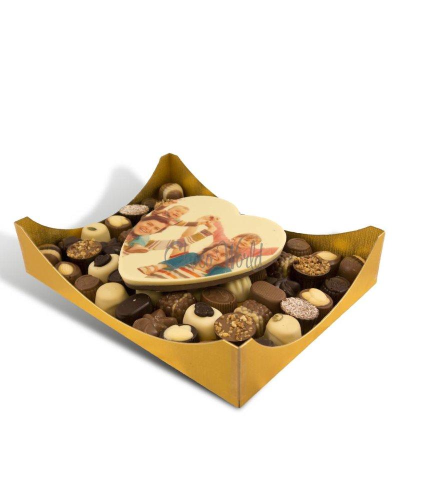 Bonbons Assorti Groot met Hart Foto/Logo