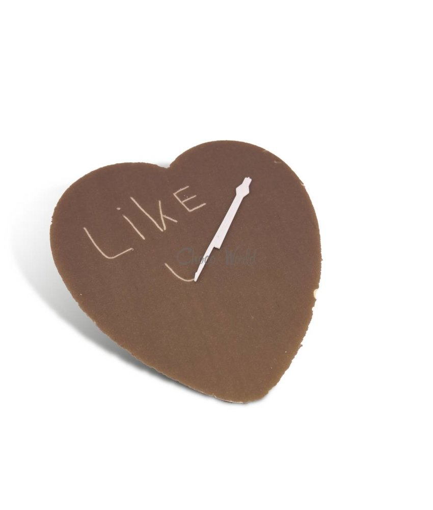 Chocolade hart kingsize