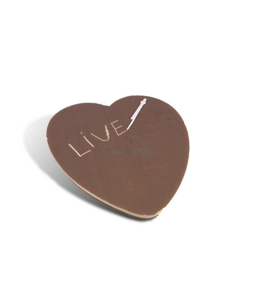 Chocolade hart groot
