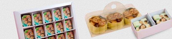 Bonbons met Foto of Logo
