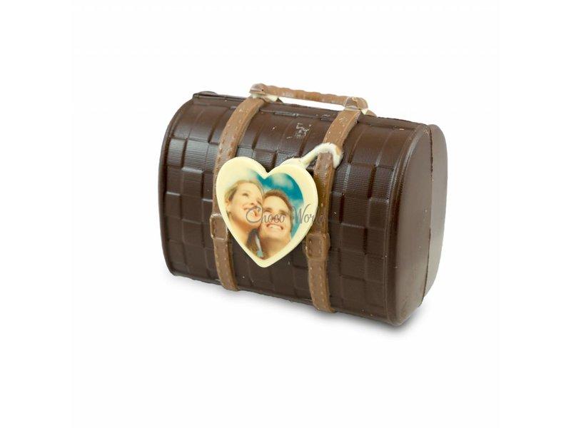 Chocolade Dames Tas met foto