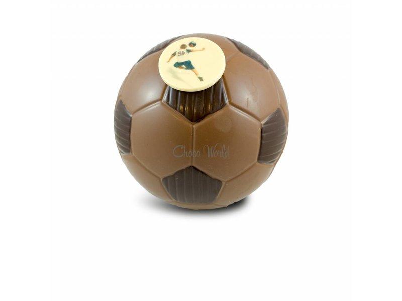 Voetbal met foto