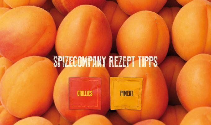 Aprikosen-Mango-Chutney mit Chillies und Piment