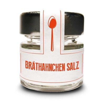 Brathähnchen Salz