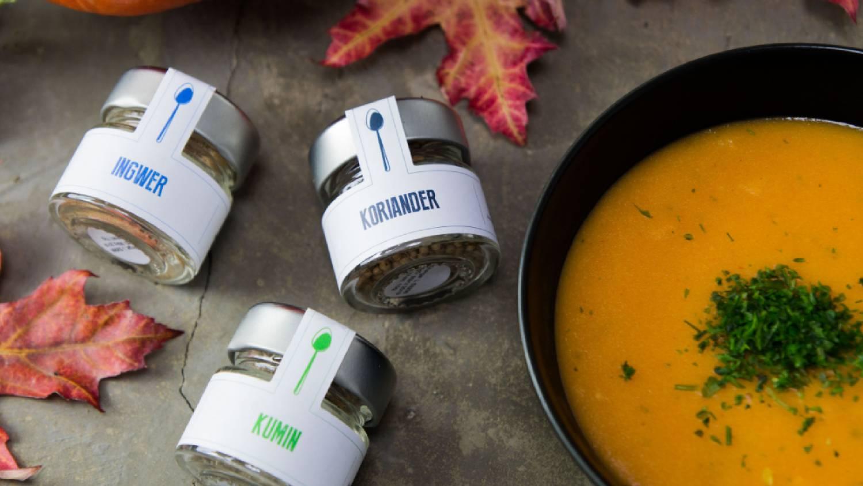 Rezept für eine herbstliche Kürbissuppe