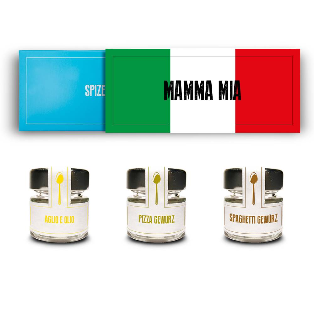 Das Gewürz Geschenkset - Mamma Mia