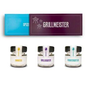 Gewürz Geschenkset Grillmeister