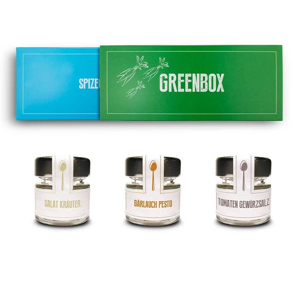 Das Gewürz Geschenkset - Greenbox