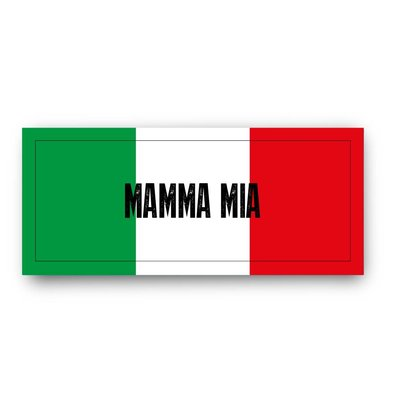 Die zweiteilige Gewürz Geschenkverpackung Mamma Mia der Spizecompany