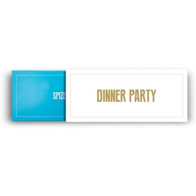 Die zweiteilige Gewürz Geschenkverpackung Dinner Party der Spizecompany
