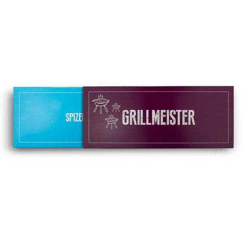 Gewürz Geschenkverpackung Grillmeister
