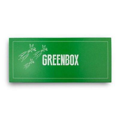 Die zweiteilige Gewürz Geschenkverpackung Greenbox der Spizecompany