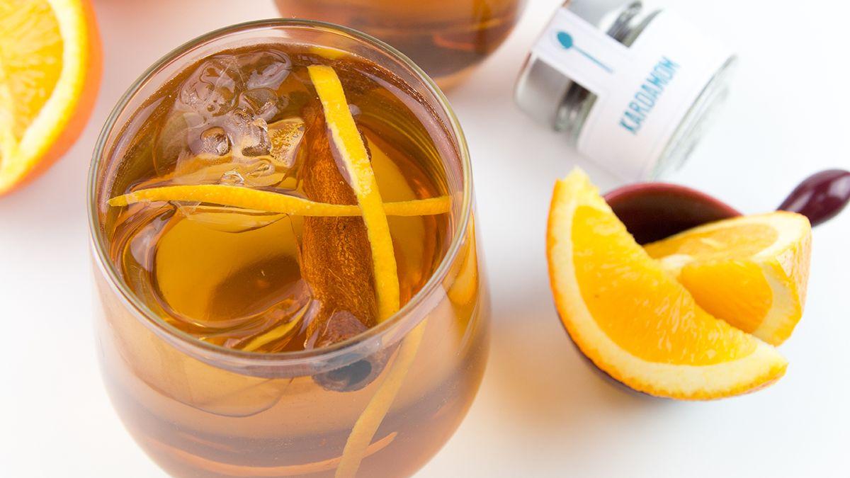 Kardamom Orangen Silvester Drink