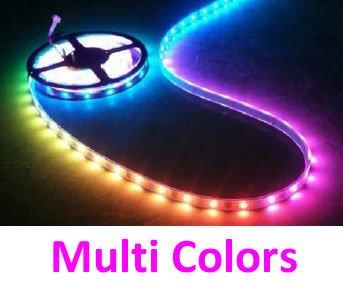 Ledika LED Stripset 5050 30pcs 12V IP68 IC6803 multicolor