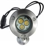 Ledika LED Outdoor Onderwater spot 9W warm wit IP68