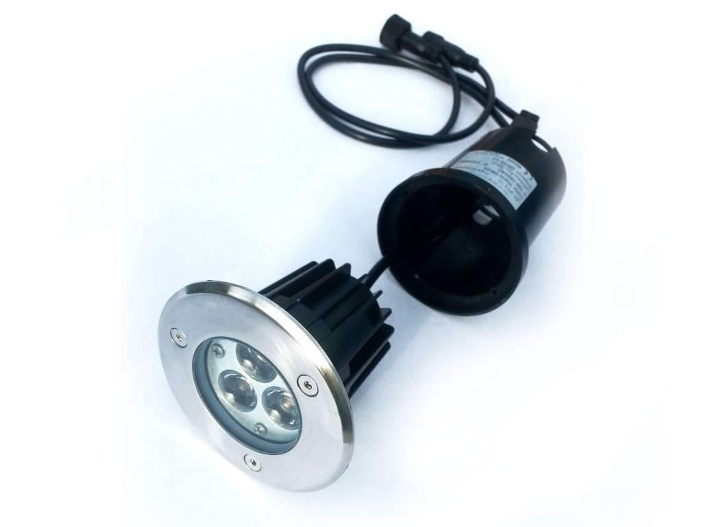 Ledika LED Outdoor Grond spot 3W RGB