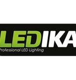 Ledika LED Schijnwerper 10W IP65 RGB + RF afstandsbediening