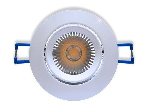 Ledika LED Inbouwspot wit 6W warm wit dimbaar