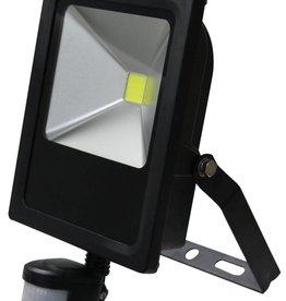 Ledika LED Schijnwerper 20W 1400lm IP65 externe PIR sensor daglicht wit