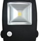 Ledika LED Schijnwerper 30W 2100lm IP65 interne PIR sensor daglicht wit