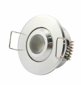 LED Inbouwspot 2W warm wit dimbaar
