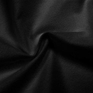 Brandvertragend flanel zwart