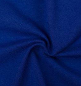 Tricot stof kobaltblauw