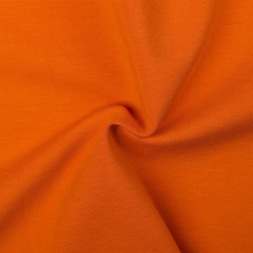 Tricot Stof Oranje