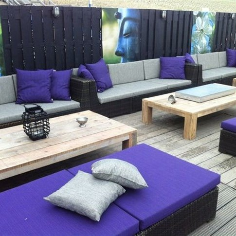 Waterafstotend Outdoor Uni Zwart