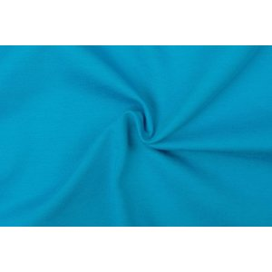 Tricot stof, turquoise