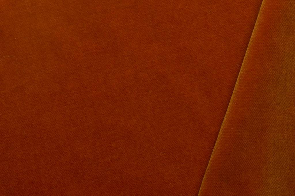 Fluweel donker oranje