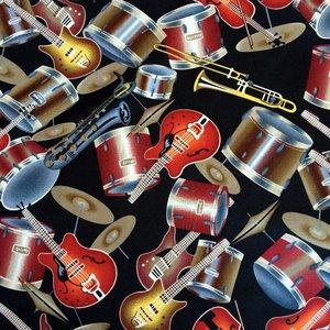Katoen stof, Muziek instrumenten