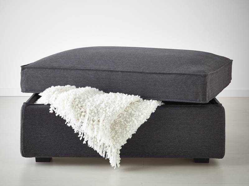 Ikea Footstool with storage - Copy