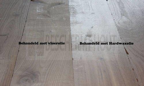 Wat is het verschil tussen vloerolie en een hardwax-olie