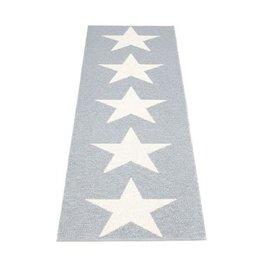 Pappelina Viggo Star grey metallic 150 x 70 cm