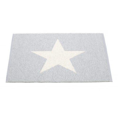 Pappelina Viggo Star one Grey/Vanilla 90 x 70
