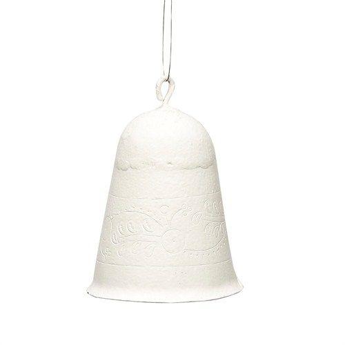 Hübsch Glocke Metall weiß