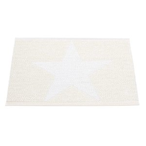 Pappelina Viggo Star Entrance white metallic