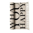Bloomingville Rug Happy
