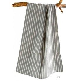 Artefina Küchentuch grau mit Streifen