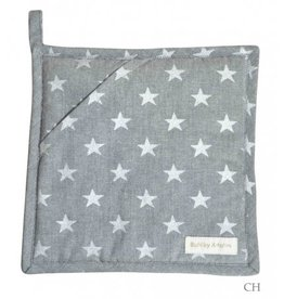 Artefina 2 potholders Stars